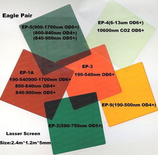 защитный экран от лазерного излучения ep-8